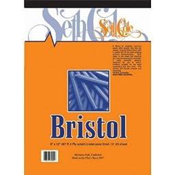 BRISTOL PAD PLATE 11x14 12 sht