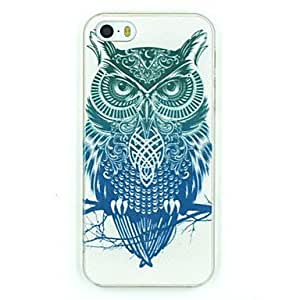 LIMME LIMMEemn Owl Pattern PC Hard Back Cover Case for iPhone 5/5S