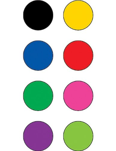 Teacher Created Resources Colorful Circles Mini Stickers
