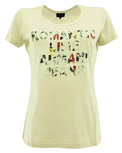 Armani Jeans - Camiseta - para mujer blanco
