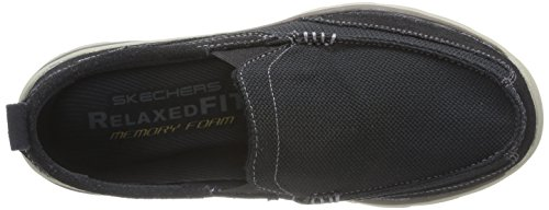 Skechers Heren Superieure Milford Slip-on Loafer Zwart