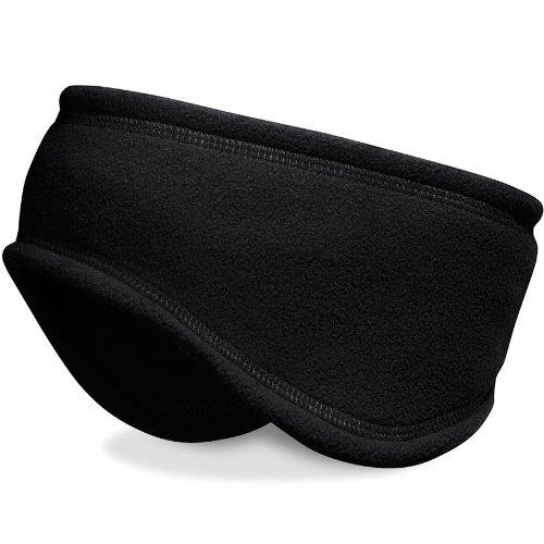 Beechfield Suprafleece Headband, Black, One Size