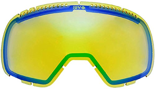 Spy Optic Platoon Snow Goggles, Yellow Lens with Green - Replacement Lenses Optic Spy