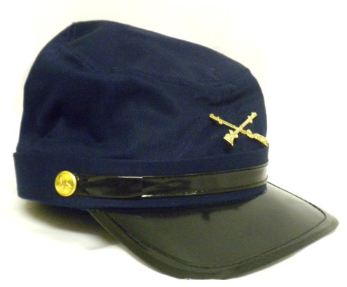 Victorian Men's Costumes Civil War Union Adjustable Cap $12.12 AT vintagedancer.com