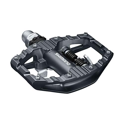 SHIMANO PD-EH500 SPD Pedal, Without Reflector, Includes Cleat, Black, One Size (Best Mtb For 500)