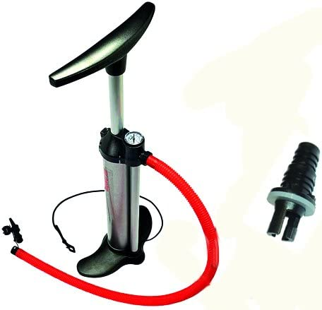 Vbest life Luftdruckmesser 30PSI Gummiboot Schlauchboot Kajakflo/ß Surfing Manometer Einzelbarometer mit Handpumpe