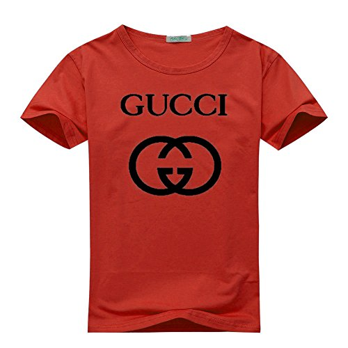 f9ccc68764f Gucci Logo For Men s Printed Short Sleeve Tee Tshirt - Buy Online in Kuwait.