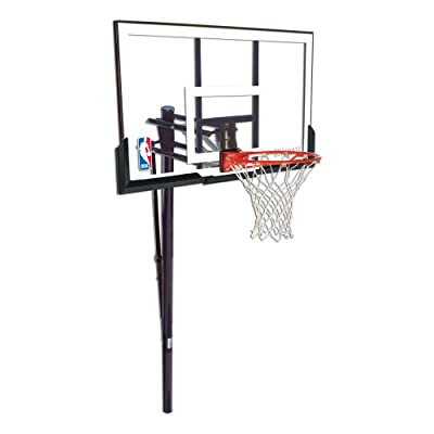 Spalding Huffy Inground 52in Acrylic Basketball System