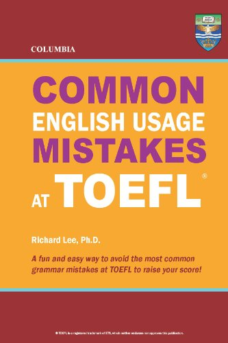 Download Columbia Common English Usage Mistakes at TOEFL Pdf