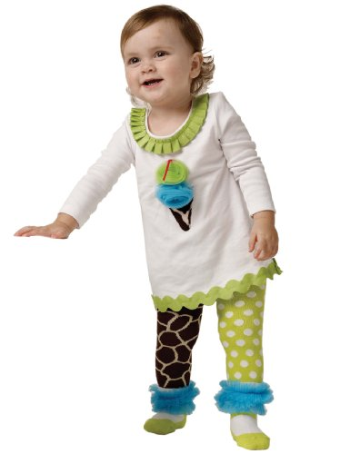 Mud Pie Baby-girls Infant Giraffe Tunic and Tights Set