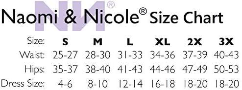 Naomi and Nicole Women's Comfortable Firm Waistline Brief