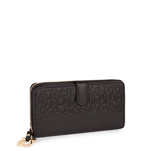 Billetera TOUS Sharita M Urbana Block Negro: Amazon.es ...