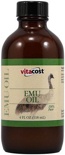 Vitacost 100% Pure Emu Oil — 4 fl oz (118 mL)