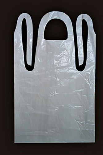 Cellucap Apron - 28X46 White Heavy Weight Embossed Apron - 5 case - 100 count.