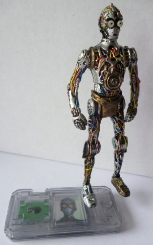 STAR WARS 1998 C-3PO PROTOCAL DROID 3.5