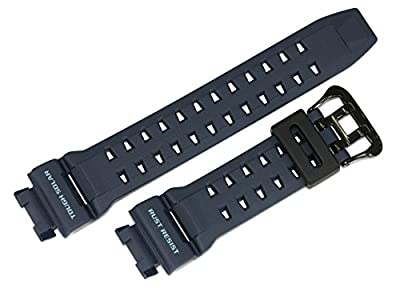 Casio 10410556 Genuine Factory Replacement Resin Band fits GR-9110ER-2 GW-9110ER-2 by Casio