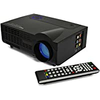 G3 LED LCD (SVGA) Mini Video Projector - US Version (Includes Warranty) - DIY Series (RioHD-LED-G3)
