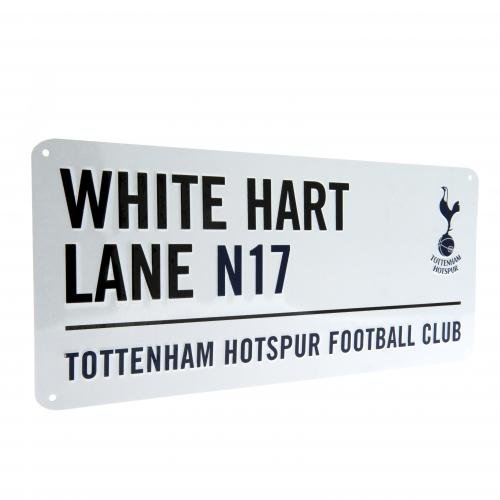 Tottenham Hotspur FC White Hart Lane Street Sign by Tottenham Hotspur
