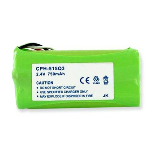 Plantronics CT-14 Cordless Phone Battery 2.4 Volt, Ni-MH 750mAh - Replacement For PLANTRONICS 80639-01, 81087-01