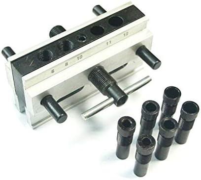 90°直角パンチロケーター丸ピン穴垂直穴あけ器具木工ロケーター 小さなハードウェアツール
