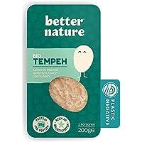 Better Nature Alternativa vegana para la carne hecha de tempeh de soja 100% BIO - 6x paquetes de 200g de deliciosas…