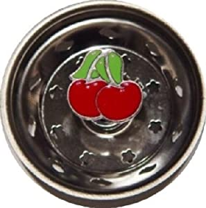 Cherry Cherries Kitchen Decor Sink Strainer Drain Plug