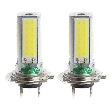 K-NVFA zweihnder h7 24w 2300LM 6000-6500K 4xcob bombilla LED de luz blanca para foglight coche (12-24V, 2 piezas) KK-V- 3638 KAOV 8291985023357