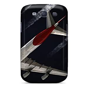 Cute Tpu MichelleNCrawford Cargo Jet Plane Case Cover For Galaxy S3