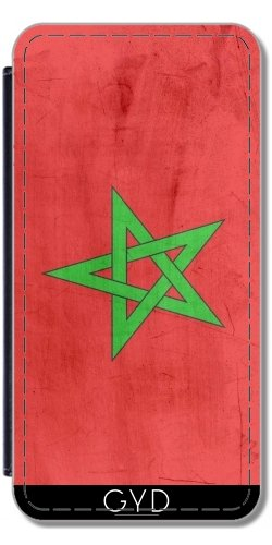 Funda de silicona para Iphone 7/7S - Bandera De Marruecos by wamdesign Polipiel