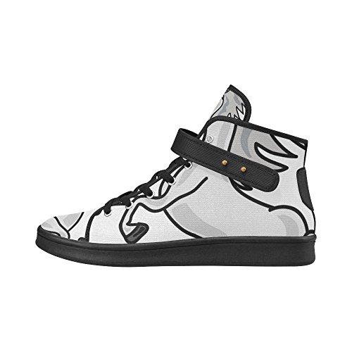 Chaussures De Tissu De Licorne Dimpressionprint Chaussures De Mode Pour Des Femmes Licorne 4