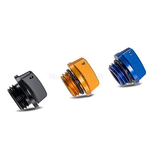 (Iris-Shop - Motorcycles Supplies CNC Billet Oil Filler Cap Plug For Yamaha XVS650 XVS1100 XVS1300 V-star 650 1100 XV535 XV950 YFM600)