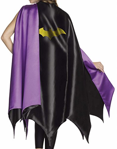 [Rubie's Costume Co Women's DC Superheroes Deluxe Batgirl Cape, Multi, One Size] (Batgirl Costumes Cosplay)