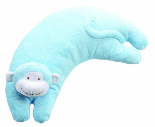 Angel Dear Pillow, Bright Blue Monkey ()