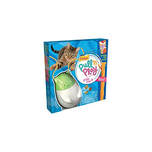 Purina Friskies Pull 'n Play Play Pack Cat Treats 3.1 oz. Box (3.1 Pull)