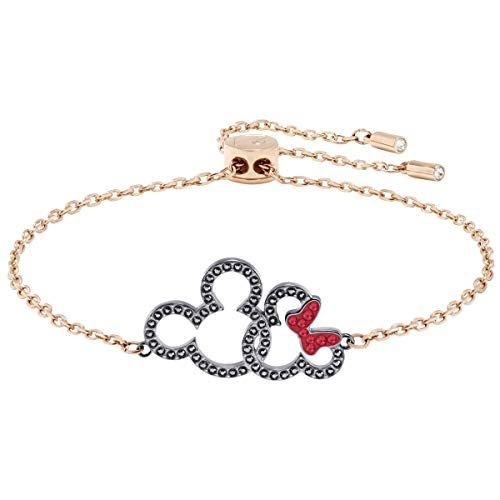 (Swarovski MICKEY & MINNIE BRACELET, MULTI-COLORED, MIXED PLATING 5435138)