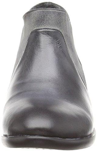 GREY DARK DARK Inuovo ENCOUNTER GREY botines chelsea mujer cuero de gris Grau ELASTIC 48zv4wqng