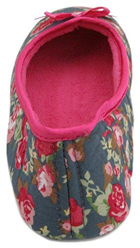 SlumberzzZ - Zapatillas de estar por casa de Material Sintético para mujer Azul