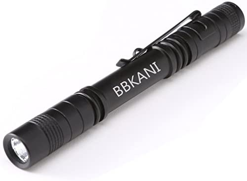 BBKANI Flashlight Lightweight Waterproof Batteries product image