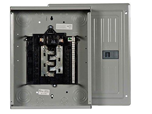 Siemens S1020B1100 10 Space, 20 Circuit, 100 Amp, Indoor, Main Breaker Load Center