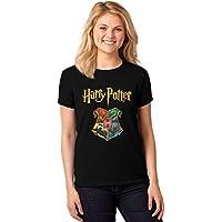 Camiseta Feminina T-Shirt Harry Potter Hogwarts Baby Look ER_115