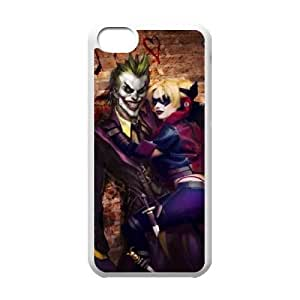 Customized Cover Case with Hard Shell Protection for Iphone 5C case with Harley Quinn lxa#7129568