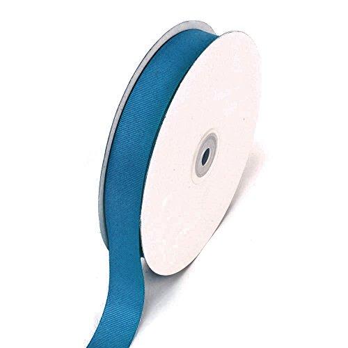 Ben Collection 7/8 Inch X 50 Yard Grosgrain Plain Ribbon Party, Wedding Favor Crafting Ribbon (Antique Blue)