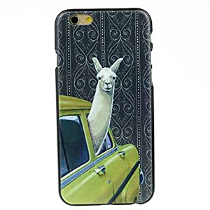 WQQ Alpaca in Car Hard Case for iPhone 6