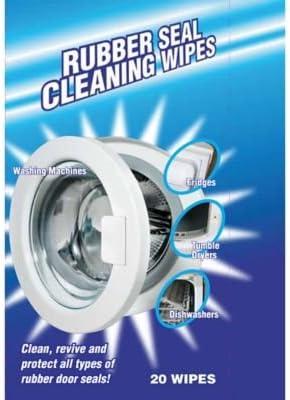 Toallitas de limpieza para las juntas de goma de la lavadora, pack ...