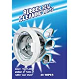 Washing Machine Rubber Seal Cleaning Wipes, Pack of 20