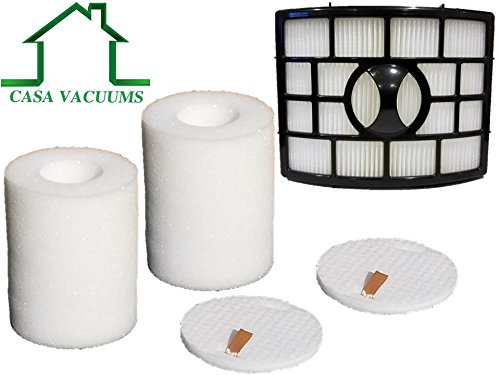 - Shark Rotator Powered Lift-Away XL Capacity 2 + 1 Pack Filter Kit - fits NV755 + UV795 Bagless Upright Vacuum Cleaners, Genuine Quality, OEM Part #'s XFF755 XHF650