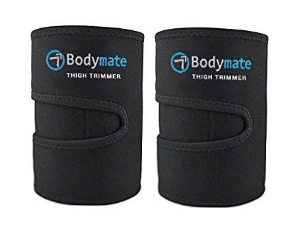 Thigh Trimmers/Slimmers | Includes 2 premium Shapers Workout Sports Enhancer Belt/Wrap Muscle Toning Research Master Leg support Fat Burning Body Weight loss Women & Men