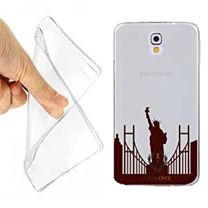 CUSTODIA COVER CASE STATUA DELLA LIBERTA' NEW YORK PER SAMSUNG NOTE 3 OPACO
