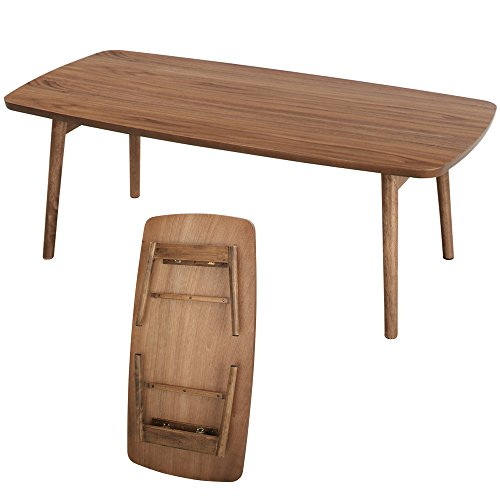 AZUMAYA Folding Coffee Center Table TAC-229 ()