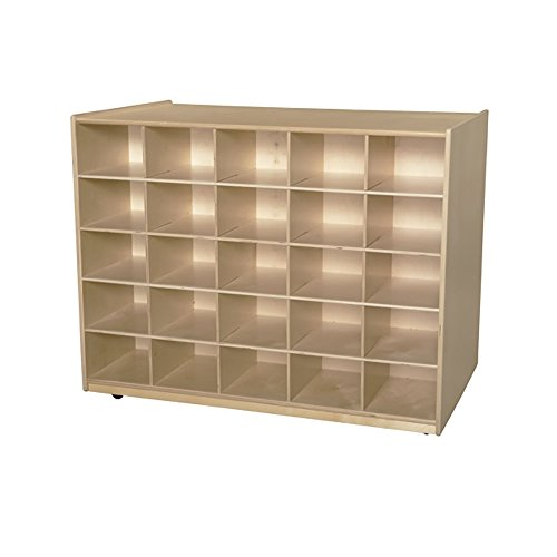 "Wood Designs WD62109 25 Baltic Birch Plywood Tray / Shelves Island without Trays 29x48x36"" (H x W x D)"